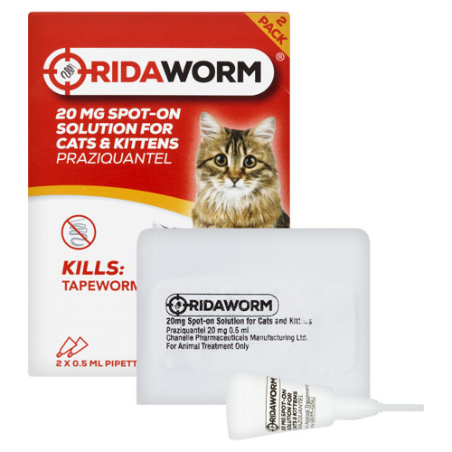 RidaWORM Spot On Solution for Cats & Kittens