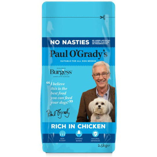 Paul O Gradys No Nasties Rich in Chicken Adult Dog Food