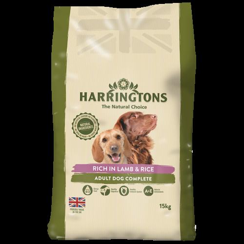 Harringtons Lamb & Rice Adult Dog Food 15kg