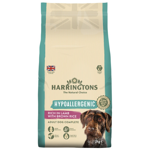Harringtons Hypoallergenic Lamb & Brown Rice Dog Food