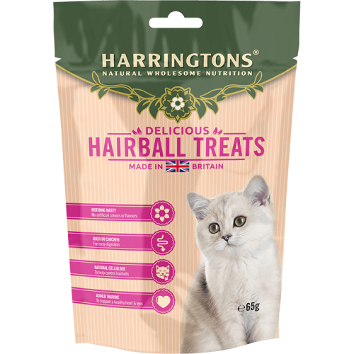 Harringtons Hairball Control Cat Treats 65g