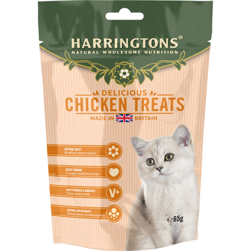 Harringtons Chicken Cat Treats 65g
