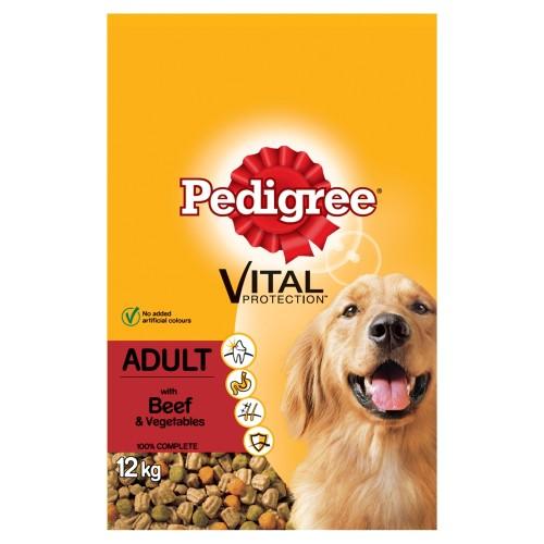 Pedigree Vital Protection Beef Adult Dog Food