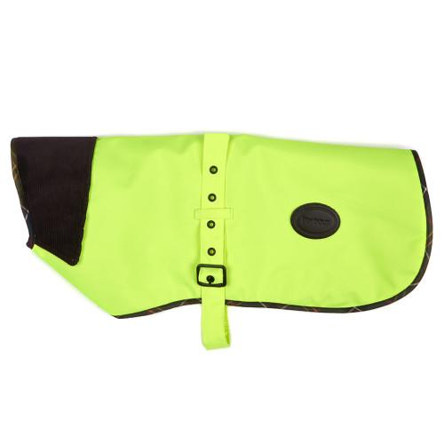 Barbour Waterproof High Vis Dog Coat in  Yellow