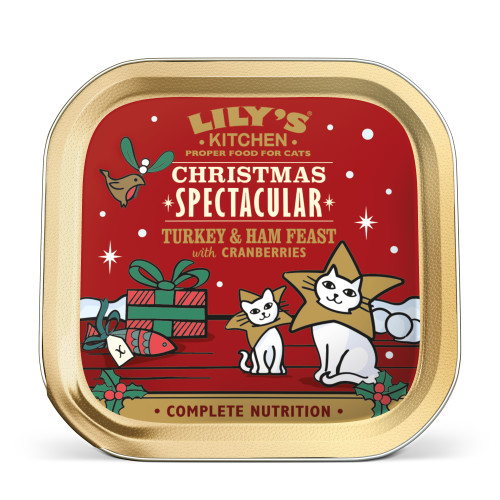 Lilys Kitchen Christmas Turkey Feast for Cats