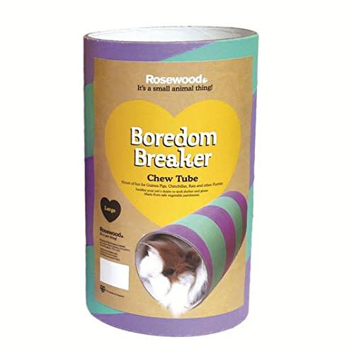 Rosewood Small Animal Boredom Breaker Chew Tubes Large - Guinea Pig