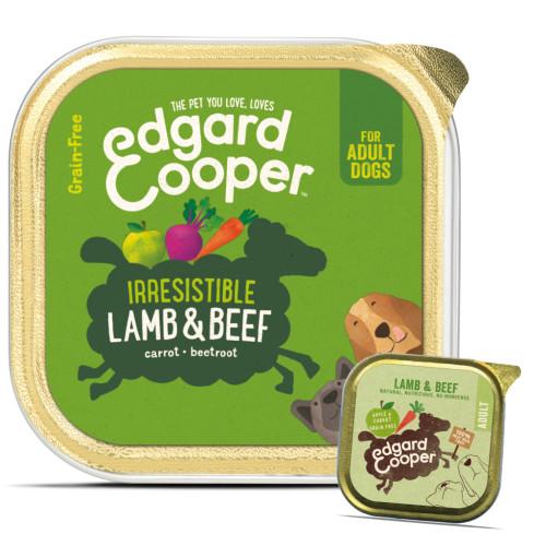 EdgardCooper Lamb & Beef Grain Free Wet Adult Dog Food