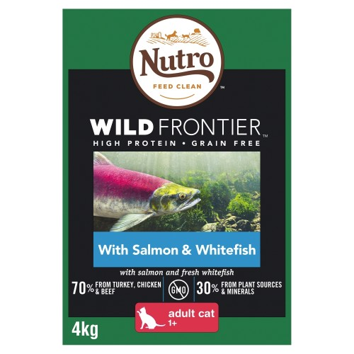 Nutro Wild Frontier Salmon & Whitefish Dry Adult Cat Food