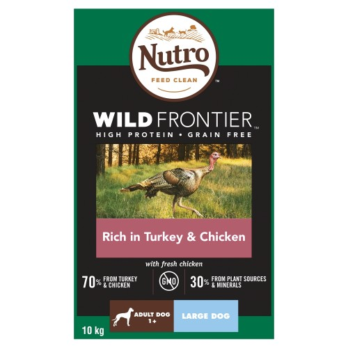 Nutro Wild Frontier Turkey & Chicken Dry Large Adult Dog Food