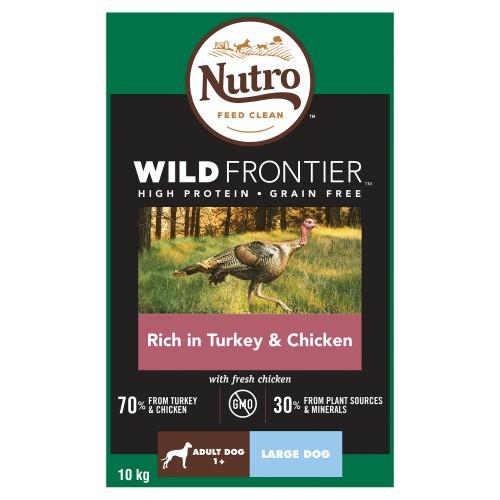 Nutro Wild Frontier Turkey & Chicken Dry Large Adult Dog Food