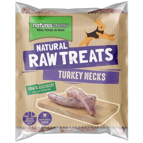 Natures Menu Turkey Necks Raw Frozen Natural Dog Treat
