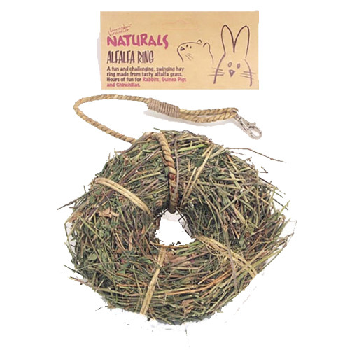 Rosewood Naturals Alfalfa Ring for Small Pets