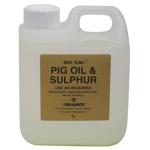 Gold Label Pig Oil & Sulphur 1 Litre