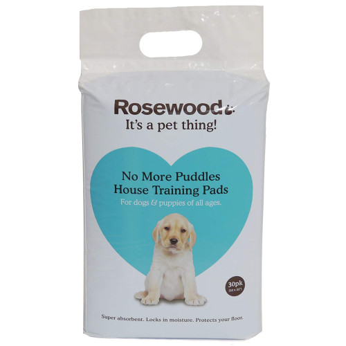 Rosewood No More Puddles Puppy Training Pads