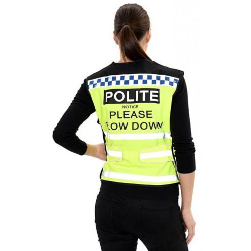 Equisafety Please Slow Down Polite Waistcoat