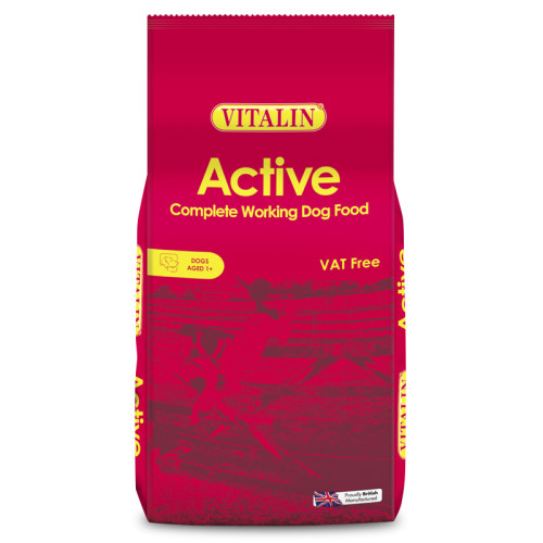 Vitalin Active Working Adult Dog Food