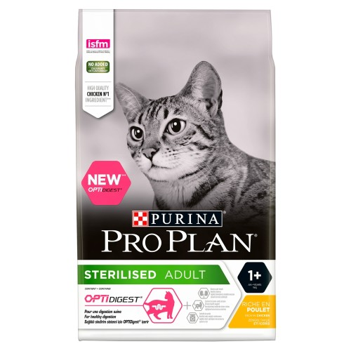 PRO PLAN OPTIDIGEST Sterilised Chicken Adult Dry Cat Food