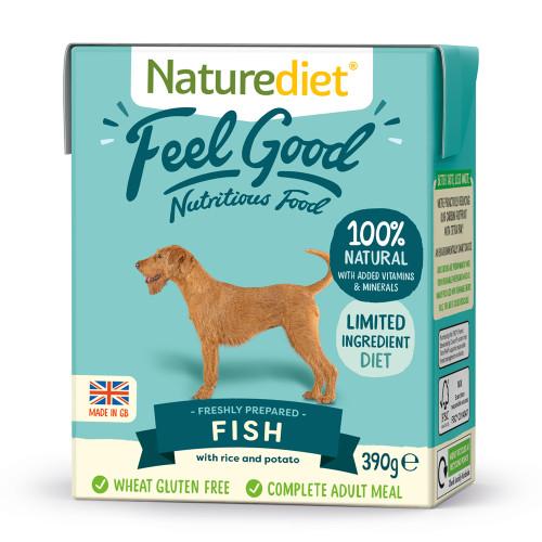 Naturediet Fish Vegetables & Rice Dog Food