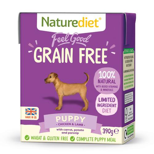 Naturediet Grain Free Chicken & Lamb Puppy Food