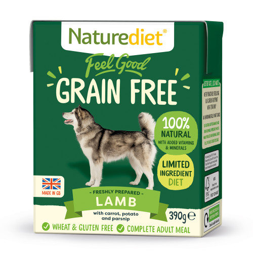 Naturediet Grain Free Lamb with Vegetables Dog Food