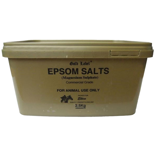 Gold Label Epsom Salts for Horses 2.5kg