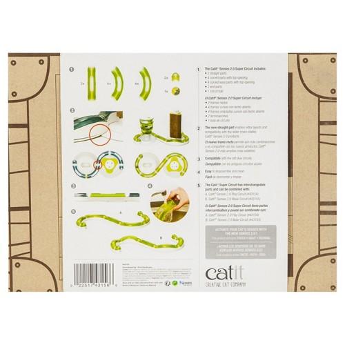 Catit Senses 2.0 Super Roller Circuit