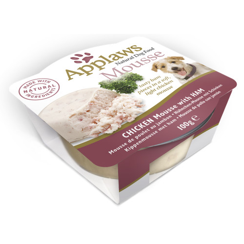 Applaws Chicken Mousse with Ham Dog Food
