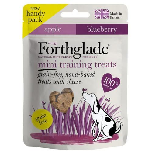 Forthglade Grain Free Hand Baked Cheese, Apple & Blueberry Mini Training Dog Treats