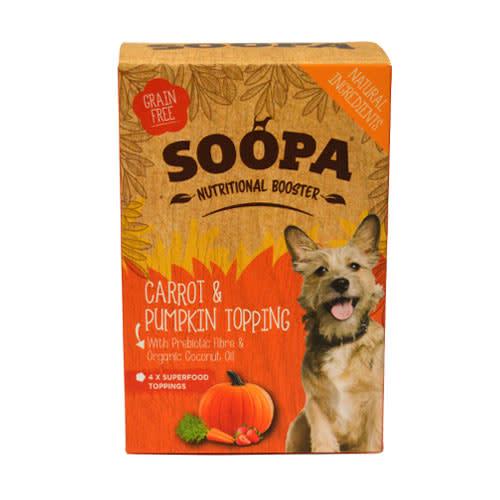 Soopa Carrot & Pumpkin Topping Pouches