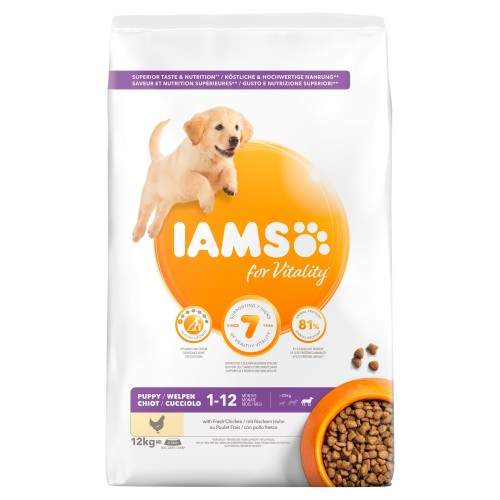 IAMS for Vitality Chicken Puppy Large Breed Dry Dog Food