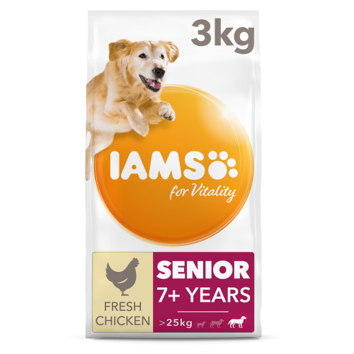 IAMS for Vitality Senior Chicken Large Breed Dry Dog Food