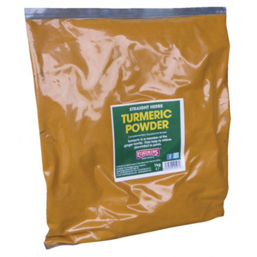 Equimins Straight Herbs Turmeric Powder for Horses 1kg