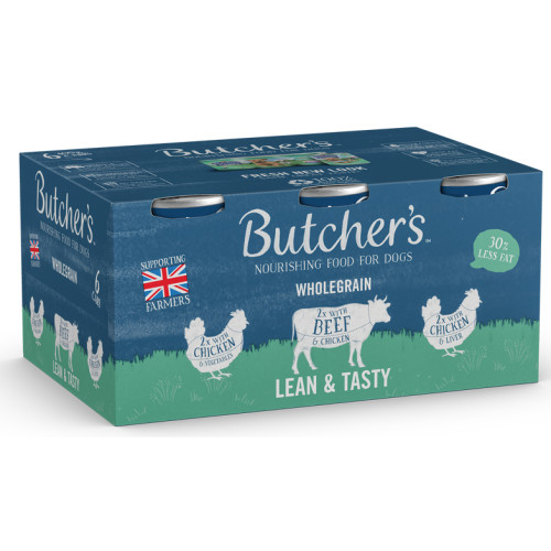 Butchers Lean & Tasty in Jelly Wet Dog Food