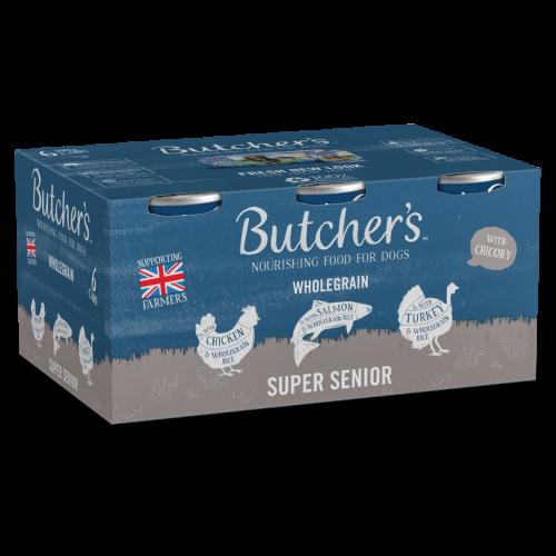 Butchers Super Senior Dog Food Tins 390g x 48