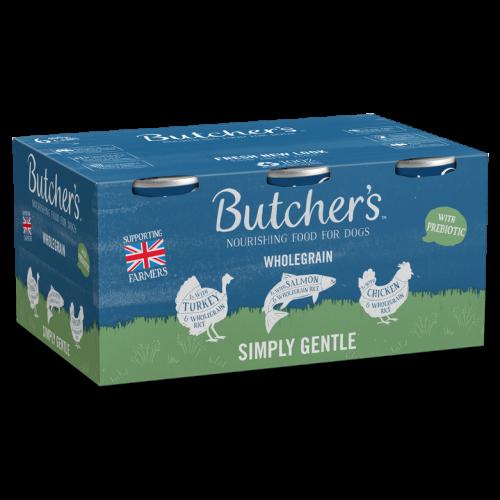 Butchers Simply Gentle Dog Food Tins 390g x 6