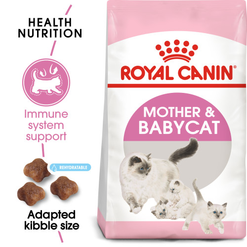 Royal Canin Mother & Babycat Dry Adult & Kitten Food 4kg x 2