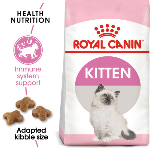 Royal Canin Kitten Dry Cat Food 4kg x 2