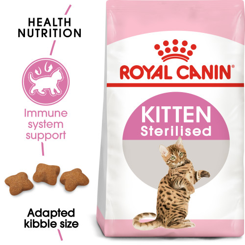Royal Canin Sterilised Dry Kitten Cat Food 400g