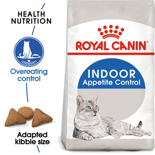 Royal Canin Indoor Appetite Control Dry Adult Cat Food 400g