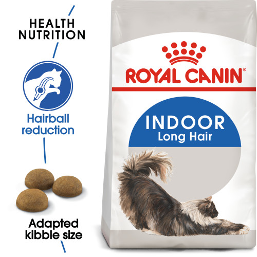Royal Canin Indoor Long Hair Dry Adult Cat Food 10kg x 2
