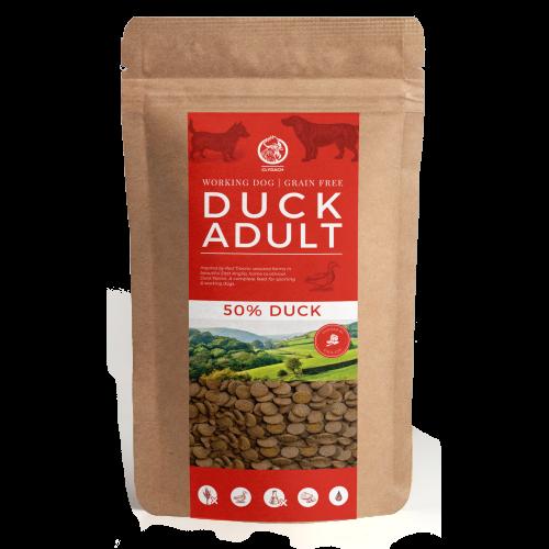 Clydach Farm Duck Grain Free Dry Adult Dog Food 1kg - Try me!