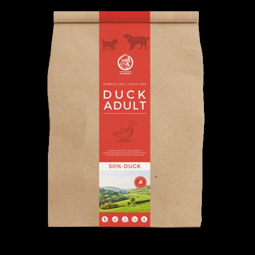 Clydach Farm Duck Grain Free Dry Adult Dog Food 12kg