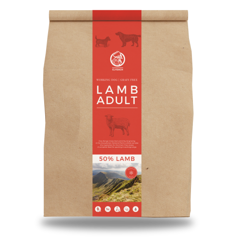 Clydach Farm Lamb Grain Free Adult Dry Dog Food 12kg