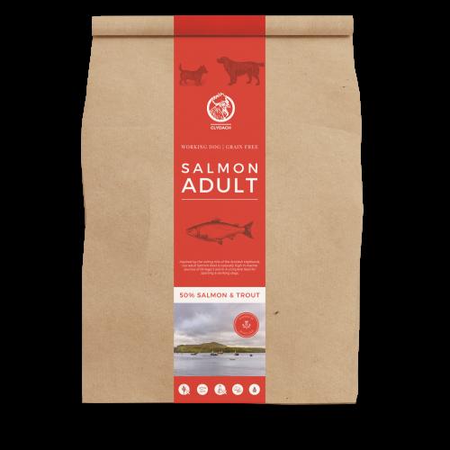 Clydach Farm Salmon Grain Free Adult Dry Dog Food 12kg