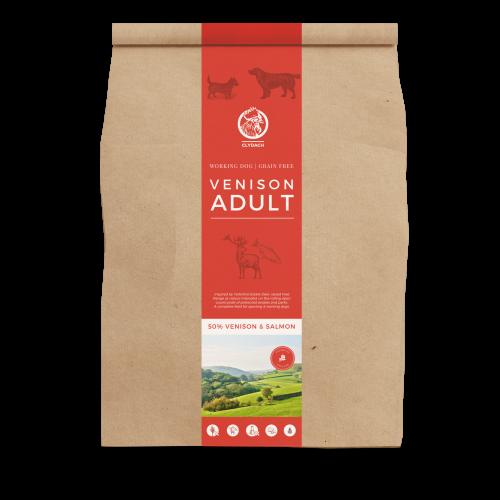 Clydach Farm Venison Grain Free Adult Dry Dog Food 12kg