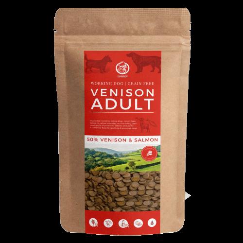 Clydach Farm Venison Grain Free Adult Dry Dog Food 1kg - Try me!