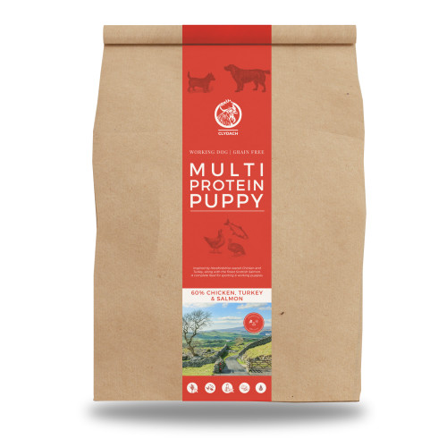 Clydach Farm Grain-free MultiProtein Dry Puppy Food
