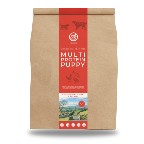 Clydach Farm Grain Free Multi Protein Dry Puppy Food 12kg