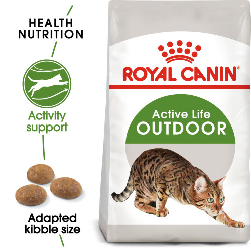 Royal Canin Outdoor Dry Adult Cat Food 10kg