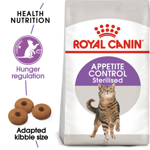 Royal Canin Appetite Control Sterilised Dry Adult Cat Food 4kg